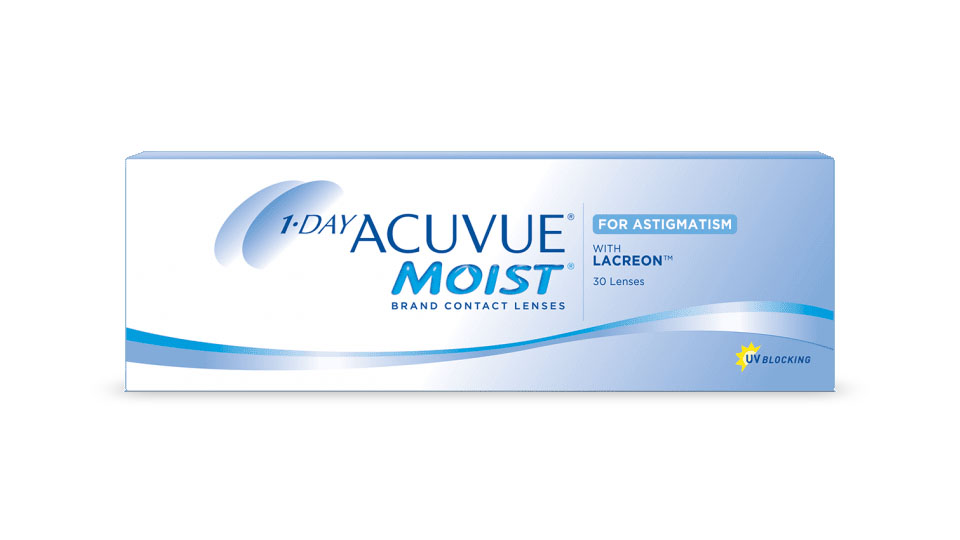 Acuvue MOIST ASTIGMATISM 1-DAY