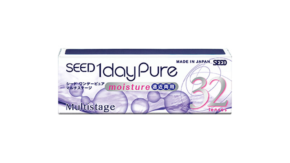 Seed 1DAY PURE MOISTURE for MULTIFOCAL